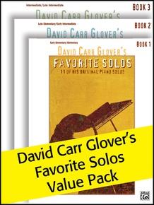 David Carr Glover's Favorite Solos 1-3 (Value Pack)