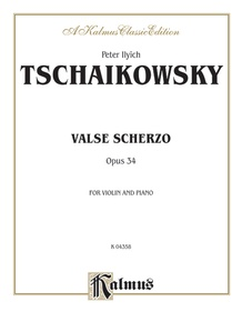 Valse Scherzo, Opus 34 (Urtext Edition)