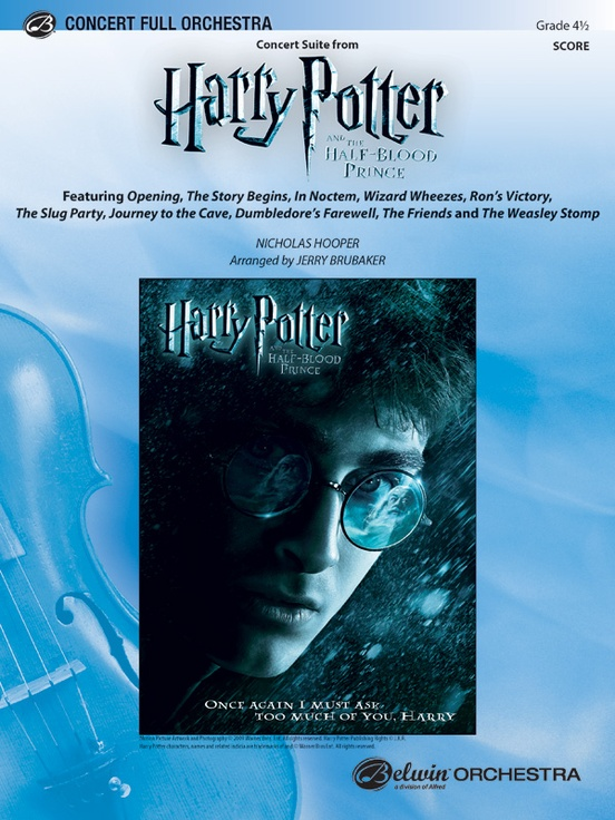 Harry Potter and the Half-Blood Prince, Concert Suite from