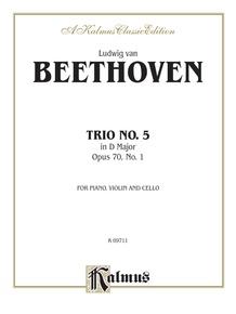 Piano Trio No. 5, Opus 70 No. 1 in D Major