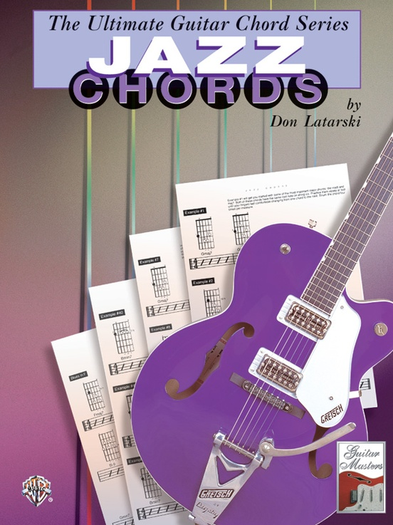 The Ultimate Guitar Chord Series: Jazz Chords: Guitar Book