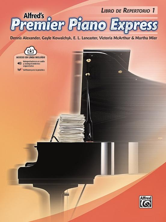 Premier Piano Express, Libro de Repertorio 1