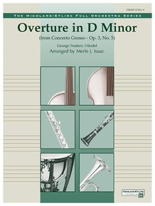 Overture in D minor (Concerto Grosso)