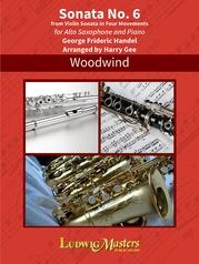 Sonata No. 6 for Alto Saxophone