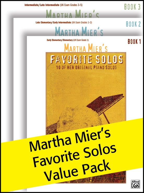 Martha Mier's Favorite Solos 1-3 (Value Pack)
