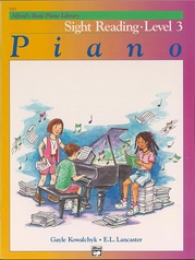 Alfred's Basic Piano Library: Sight Reading Book 3