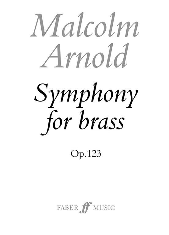 Symphony for Brass, Opus 123