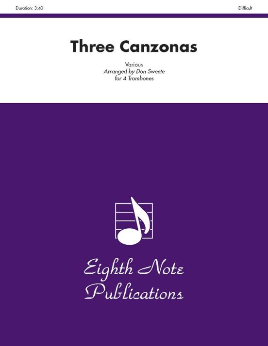 Three Canzonas