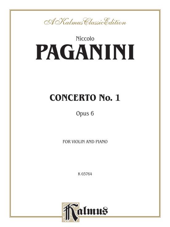 Concerto No. 1, Opus 6