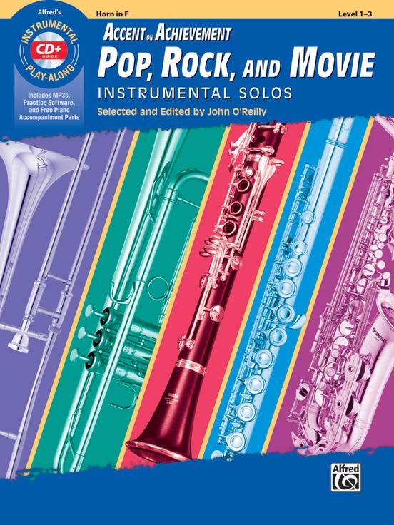 ポップ、ロック、映画音楽ソロ曲集(ホルン)【Accent on Achievement Pop, Rock, and Movie Instrumental S】