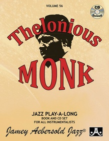 Jamey Aebersold Jazz, Volume 56: Thelonious Monk