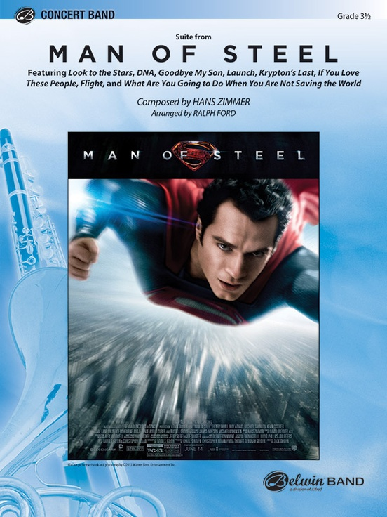 Man of Steel, Suite from