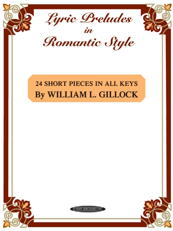 Lyric Preludes in Romantic Style
