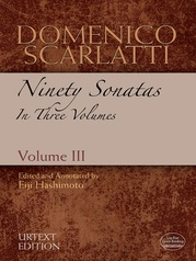 Domenico Scarlatti: Ninety Sonatas in Three Volumes, Volume III