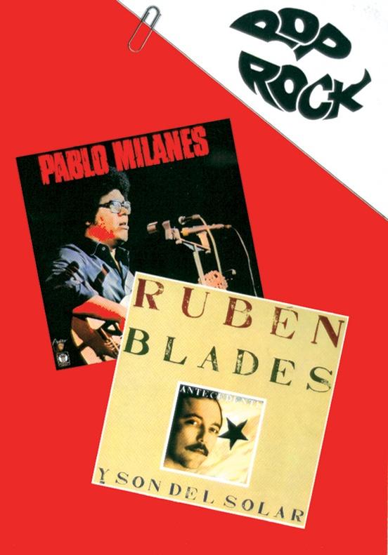 Pablo Milanés * Rubén Blades from the Pop Rock Series