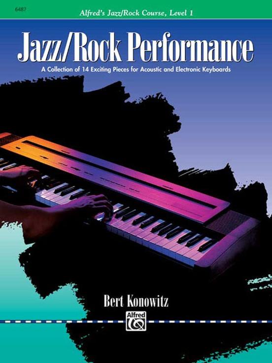 Alfred's Basic Jazz/Rock Course: Performance, Level 1