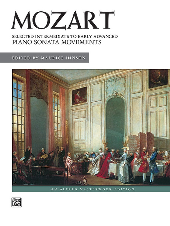 Mozart: Selected Intermediate to Early Advanced Piano Sonata Movements