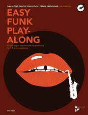 Easy Funk Play-Along: Tenor Saxophone