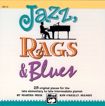Jazz, Rags & Blues, CD for Books 1-3