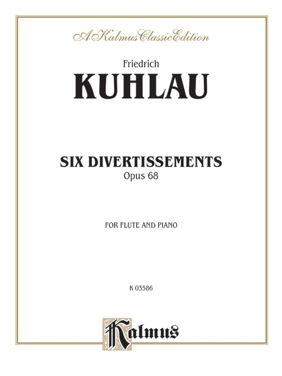Six Divertissements, Opus 68