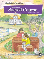 Alfred's Basic All-in-One Sacred Course, Book 5