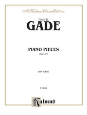 Piano Pieces, Opus 19