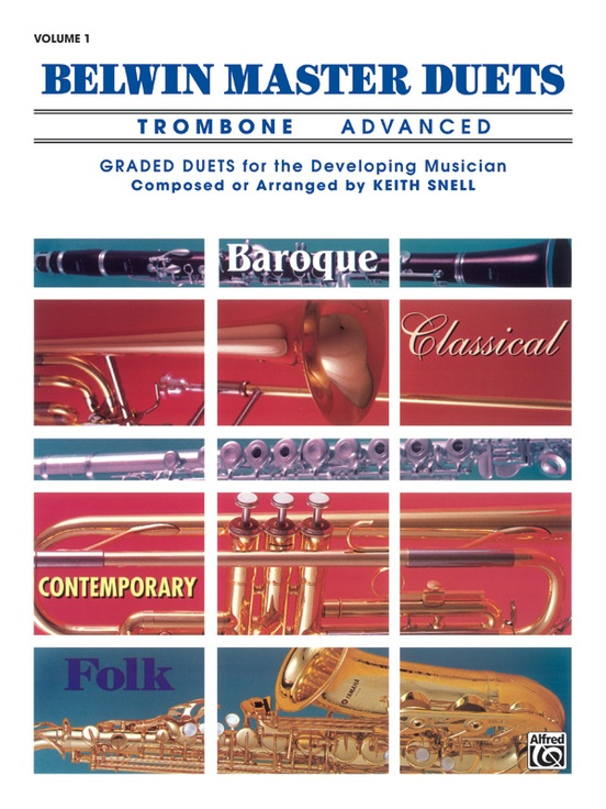 Belwin Master Duets (Trombone), Advanced Volume 1