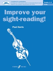 Improve Your Sight-Reading! Cello, Grade 1-3
