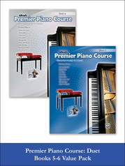 Premier Piano Course Duet 5-6 (Value Pack)