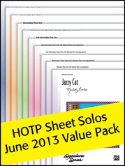 Sheet Solos 2013 (Value Pack)