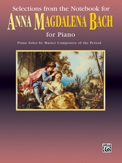 Notebook for Anna Magdalena Bach, Selections from the