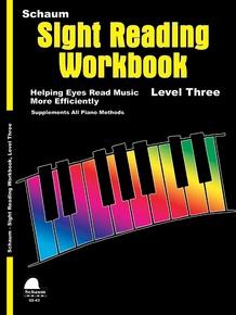Sight Reading Workbook, Level Three