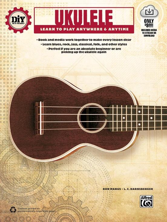 Diy do it yourself ukulele ukulele book online audio video diy do it yourself ukulele solutioingenieria Images