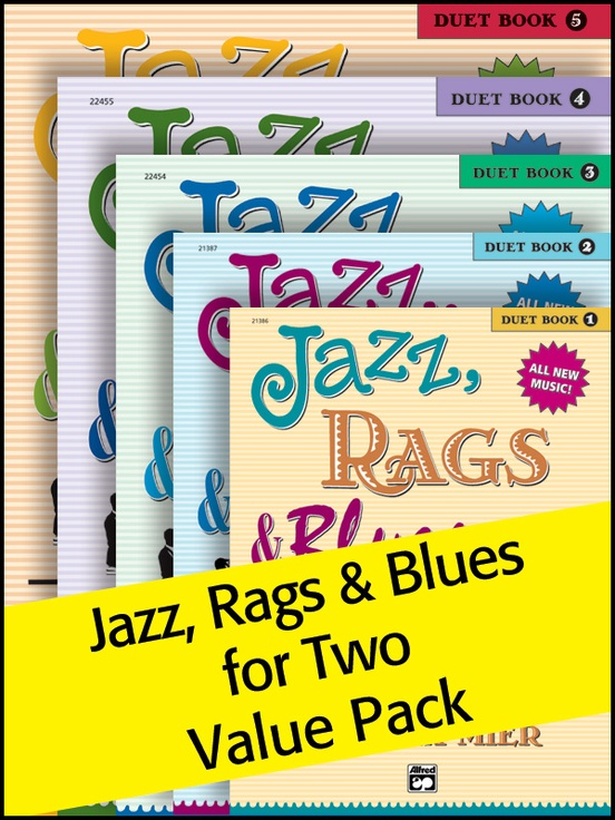 Jazz, Rags & Blues for Two 1-5 (Value Pack)