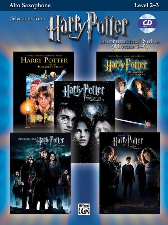 ハリー・ポッター・ソロ曲集(アルトサックス)【Harry Potter Instrumental Solos】