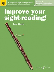Improve Your Sight-Reading! Bassoon, Levels 1-5 (Elementary-Intermediate)