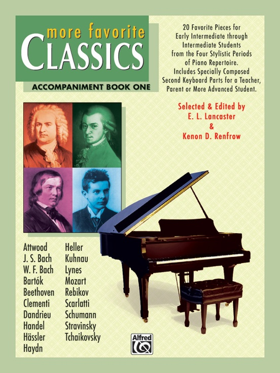 More Favorite Classics: Accompaniment, Book 1