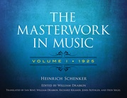 The Masterwork in Music, Volume I (1925)