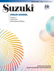 Suzuki Violin School, Volume 1 (Asian Edition)