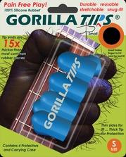 Gorilla Tips Fingertip Protectors Blue Size Small