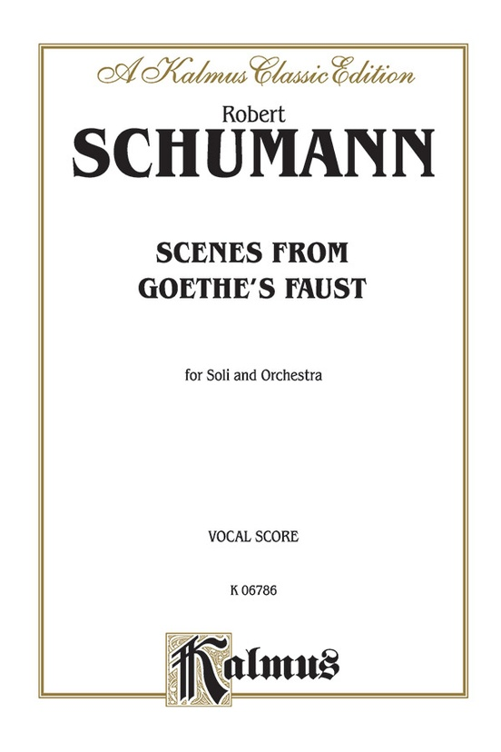 Scenes from Goethe's Faust