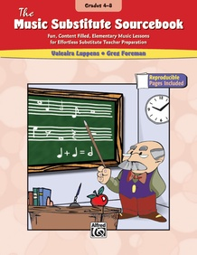 The Music Substitute Sourcebook, Grades 4--8