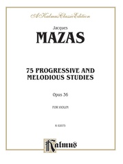 75 Progressive and Melodious Studies, Opus 36