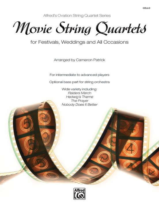 Movie String Quartets for Festivals, Weddings, and All Occasions