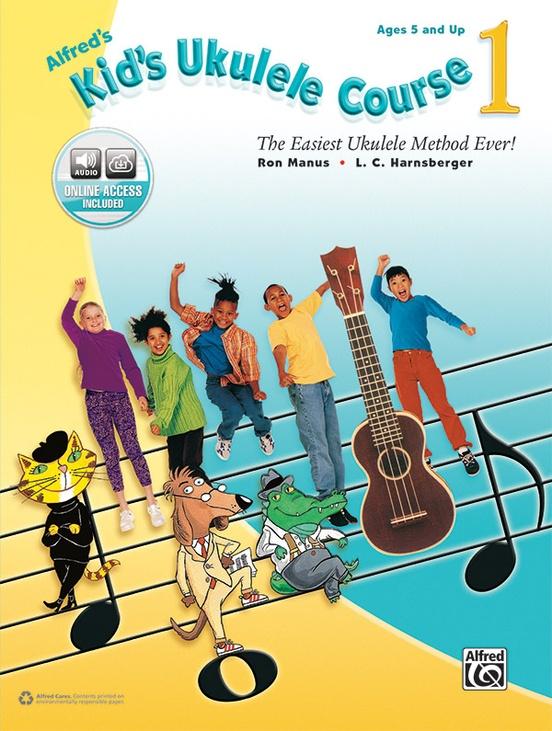 Alfreds Kids Ukulele Course 1 Ukulele Book Online Audio