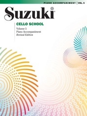 Suzuki Cello School Piano Acc., Volume 5 (Revised)