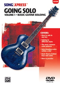 SongXpress® Going Solo, Vol. 1: Basic Guitar Soloing