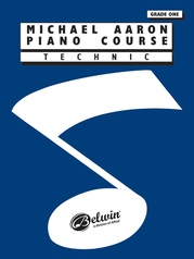 Michael Aaron Piano Course: Theory, Grade 1