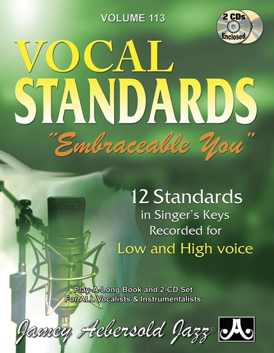 "Jamey Aebersold Jazz, Volume 113: Vocal Standards ""Embraceable You"""