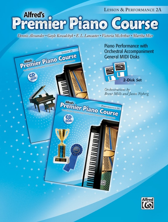 Premier Piano Course, GM Disk 2A for Lesson and Performance